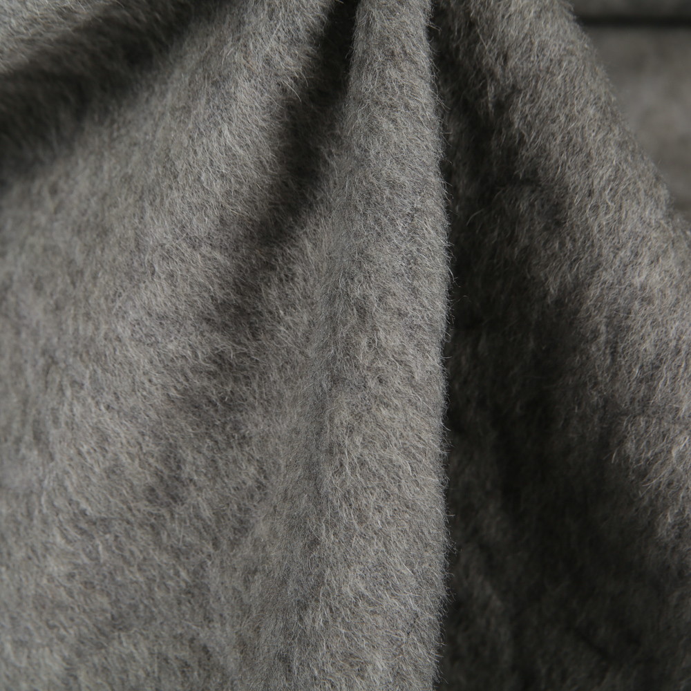 Coat cashemere with mohair